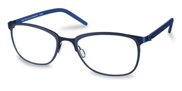 Dark Blue Matte Free Form FFA973 Eyeglasses
