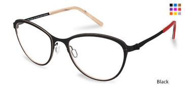 Black Free-Form FFA974L Eyeglasses