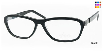 Free-Form FFA981 Black Eyeglasses
