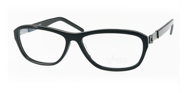 Black Free-Form FFA981 Eyeglasses.