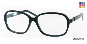Free-Form FFA982 Black/Blue Eyeglasses