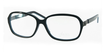 Black/Blue Free-Form FFA982 Eyeglasses.