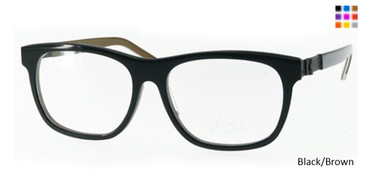 Free-Form FFA984 Black Eyeglasses