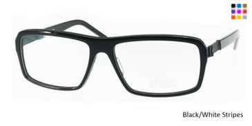 Free-Form FFA985 Black/White S Eyeglasses