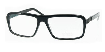 Black/White Stripes Free-Form FFA985 Eyeglasses