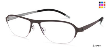 Free-Form FFA931 Brown Eyeglasses