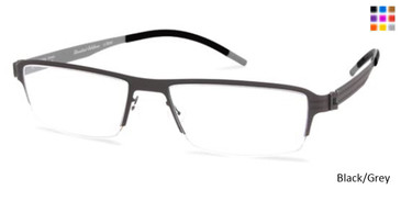 Free-Form FFA933 Black/Grey Eyeglasses
