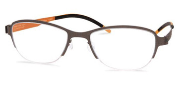 Black/Orange Free-Form FFA938 Eyeglasses