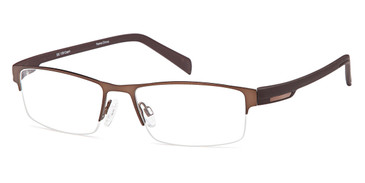 Brown Capri Dicaprio DC139 Eyeglasses