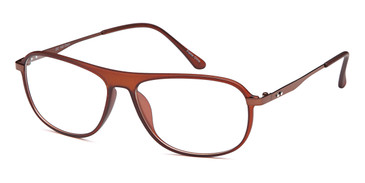 Brown Capri Dicaprio DC140 Eyeglasses