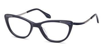 Blue Capri DC317 Eyeglasses.