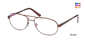 Brown Capri FX 103 Eyeglasses.