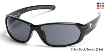 Shiny Black/Smoke (01A) HARLEY-DAVIDSON HD0913X Sunglasses
