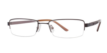 Brown/Gunmetal Vivid 201 Eyeglasses