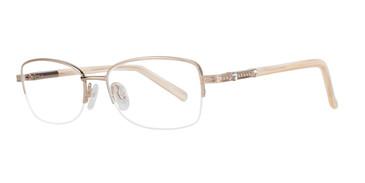 Gold Eight To Eighty Bea Eyeglasses.