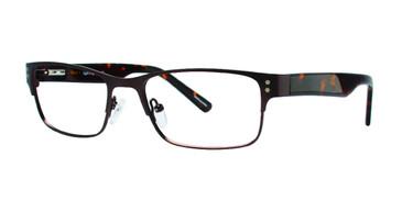 Brown Eight To Eighty Explorer Eyeglasses.