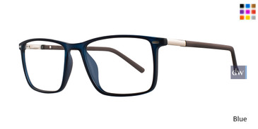Blue Eight To Eighty Gary Eyeglasses