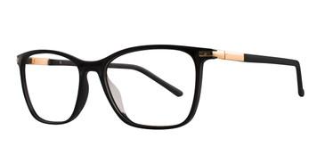 Black Eight To Eighty Heidi Eyeglasses.