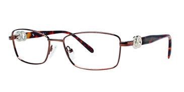 Brown Eight To Eighty Irene Eyeglasses.