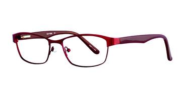 Burgundy Eight To Eighty June Eyeglasses.