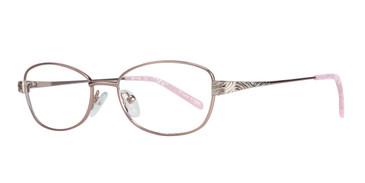 Pink Eight To Eighty Nanny Eyeglasses.