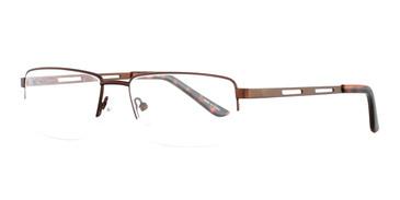 Brown Eight To Eighty New York Eyeglasses.