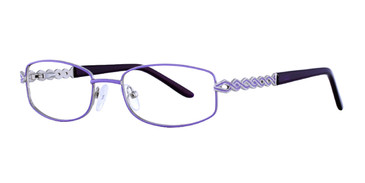 Violet Eight To Eighty Nicole Eyeglasses.