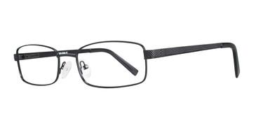 Black Eight To Eighty Tesla Eyeglasses.