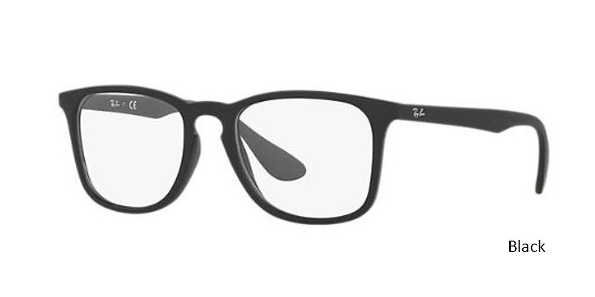 Black RayBan RB7074 Eyeglasses