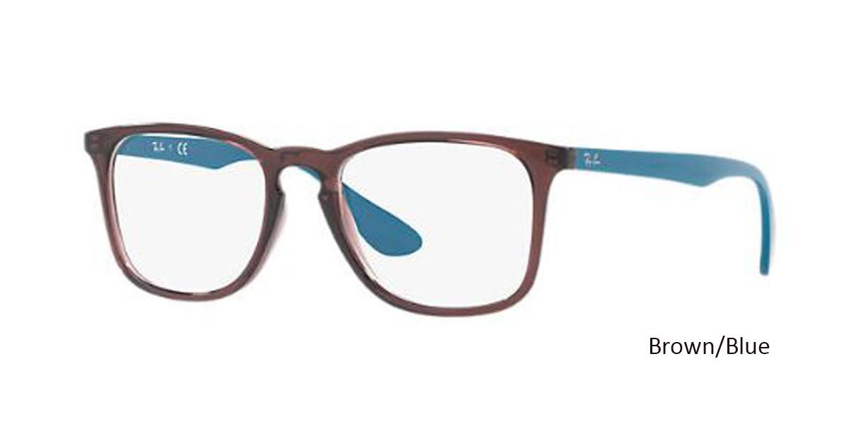 Brown/Blue RayBan RB7074 Eyeglasses