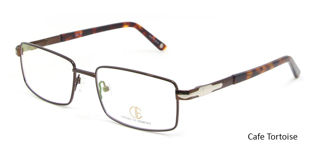 Cafe/Tortoise CIE SEC117 Eyeglasses.