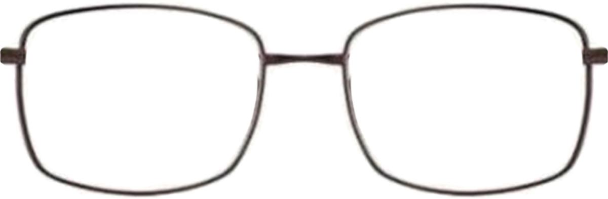 Brown Lite Design LD1018 Eyeglasses