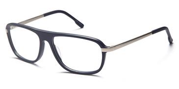 Blue/Silver Capri GR 808 Eyeglasses.