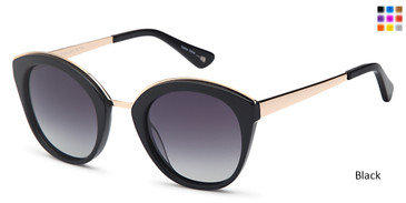 Black Capri JF 601 Sunglasses.