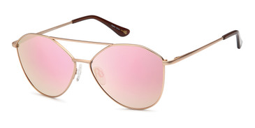 Matte Gold Capri JF 602 Sunglasses.