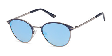 Blue Capri JF 603 Sunglasses.