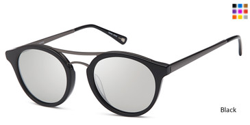 Black Capri JF 605 Sunglasses.