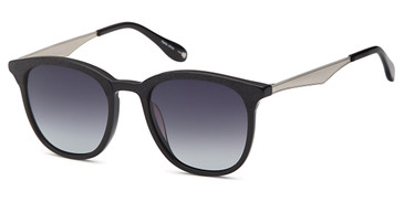 Black Capri JF 607 Sunglasses.