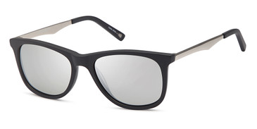Matte Black Capri JF 610 Sunglasses.