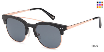 Black Capri JF 612 Sunglasses.