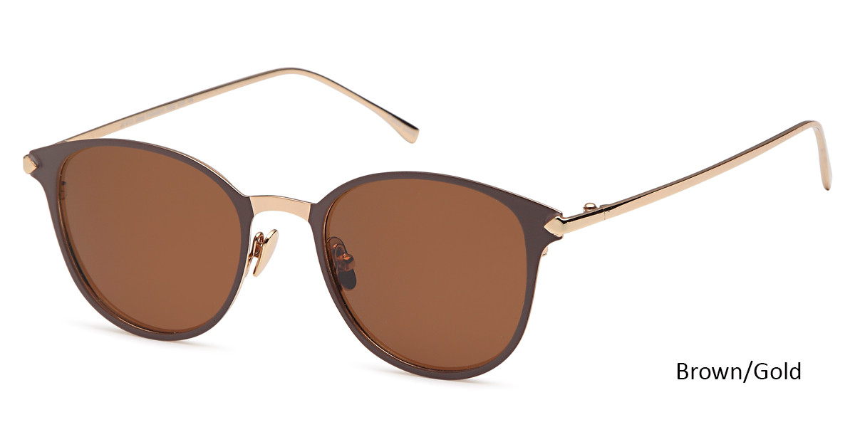 Brown/Gold Daniel Walters JF 613 Sunglasses.