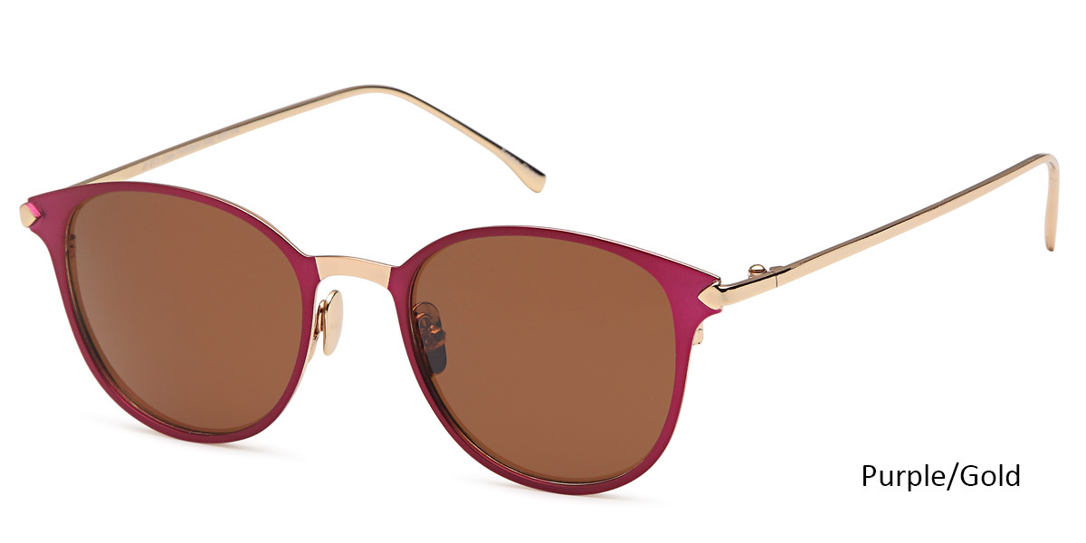 Purple/Gold Daniel Walters JF 613 Sunglasses.