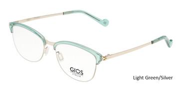 Light Green/Silver Gios Italia SN200018 Eyeglasses