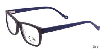 Black Gios Italia RF500082 Eyeglasses