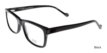 Black Gios Italia RF500074 Eyeglasses .