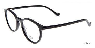 Black Gios Italia RF500072 Eyeglasses - Teenager