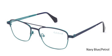 Navy Blue /Petrol C-Zone L3206 Eyeglasses.