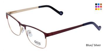 Blue/Silver Gios Italia LP100032 Eyeglasses