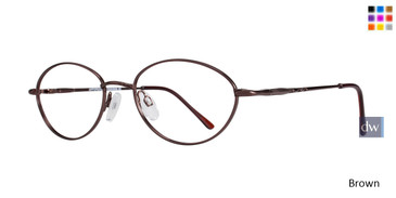 Brown Affordable Designs Bronx Eyeglasses.