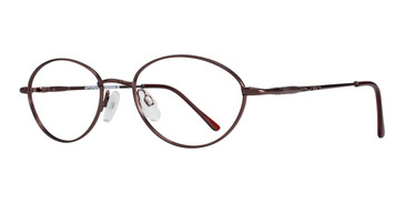Brown Affordable Designs Agnes Eyeglasses.
